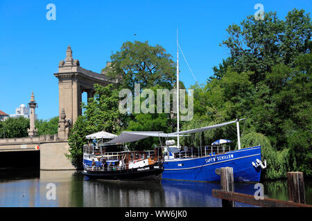 Germany, Berlin, Charlottenburg Gate - Stock Photo