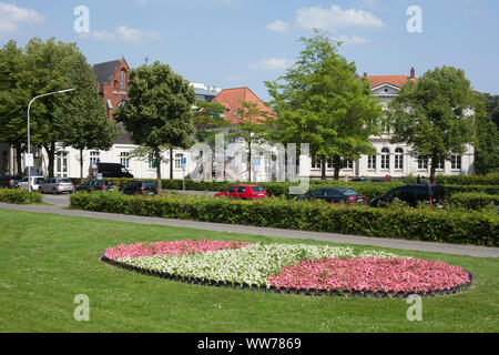 Saint Peter's Church, City of Oldenburg in the District of Oldenburg, Lower Saxony, Germany, Europe - Stock Photo