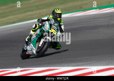 Misano, Italy. 13th Sep, 2019. Cal Cruthclow during Friday Free Practices in Misano World Circuit (Photo by Lorenzo Di Cola/Pacific Press) Credit: Pacific Press Agency/Alamy Live News - Stock Photo