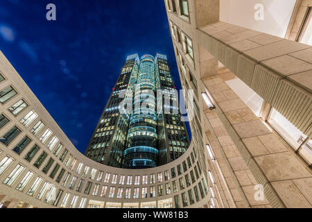 Frankfurt on the Main, Hesse, Germany, Tower 185 - Stock Photo