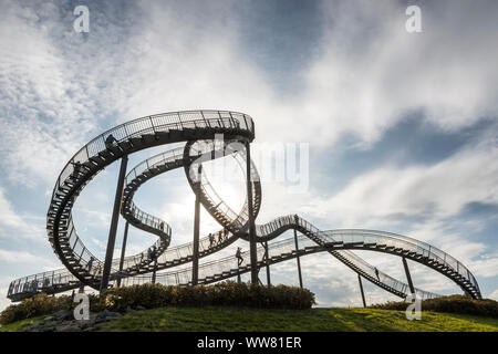 Duisburg, North Rhine-Westphalia, Germany, Landmark Tiger & Turtle - Magic Mountain - Stock Photo