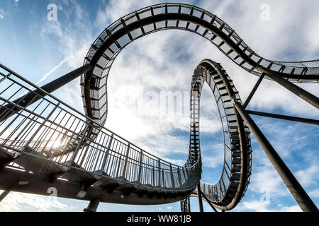 Duisburg, North Rhine-Westphalia, Germany, Landmark Tiger & Turtle - Magic Mountain Stock Photo