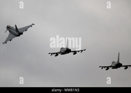 German Air Force Eurofighter EF2000 Typhoon's - Stock Photo