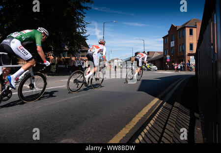 Bedworth, OVO Mens Cycle Tour Britain 2019 - Stock Photo