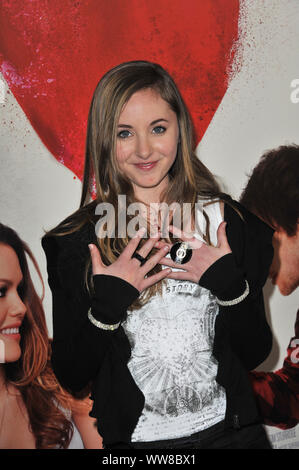 LOS ANGELES, CA. February 01, 2011: Rachel Fox at the Los Angeles premiere of 'Waiting for Forever' at the Pacific Theatres at The Grove. © 2011 Paul Smith / Featureflash - Stock Photo