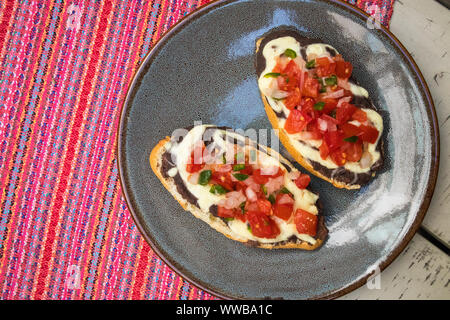Mexican Mollettes for Breakfast - Stock Photo