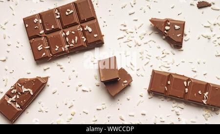melbourne, pistachio, avocado, strawberry shortcake, white chocolate, granola bars, snickers - Stock Photo