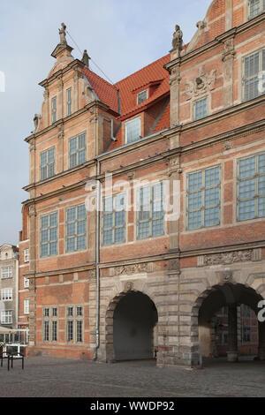 Long Market, Old Town Gdansk, Poland. Długi Targ, Stare Miasto Gdanska - Stock Photo
