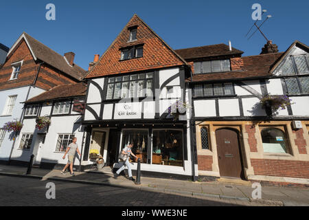 The Old House, dating from the 1600s, in Church Street in Godalming town centre, Surrey, UK - Stock Photo