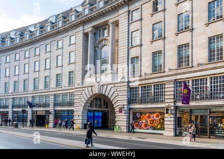 Shops on Regent Streent, London - Stock Photo