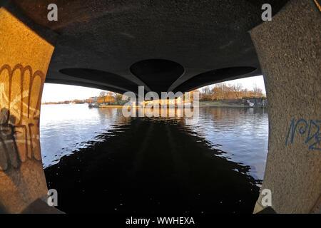 Kennedy Bridge - Stock Photo