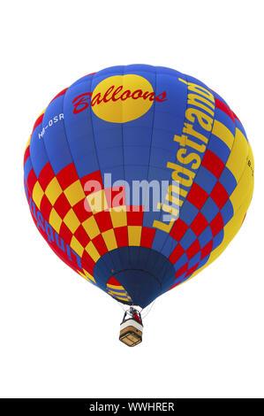 Lindstrand hot air balloon in flight