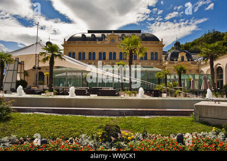 gambling casino in Baden near Vienna, Lower Austria, Austria, Europe - Stock Photo