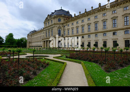 Residenz Würzburg, Unesco World Heritage Site - Stock Photo