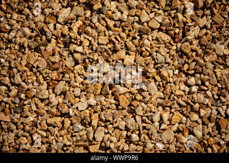 The Close up of white stones and marble. background of pebbles on the beach - Stock Photo