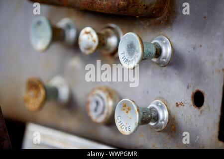 Steampunk Knobs - Stock Photo