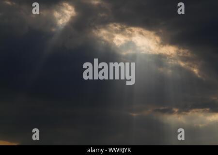 sunrays - Stock Photo