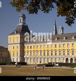 former Electoral Palace, now main building of University, Bonn, North Rhine-Westphalia, Germany - Stock Photo