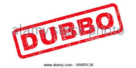 Dubbo Rubber Stamp - Stock Photo