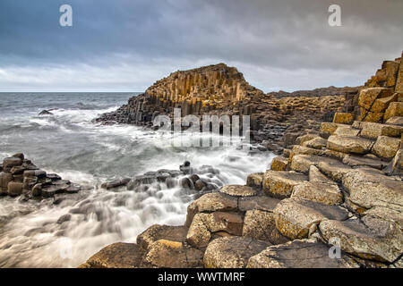 Impression of the Giants Causeway in Northern Ireland