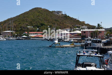 Charlotte Amalie, US Virgin Islands, Caribbean - Stock Photo