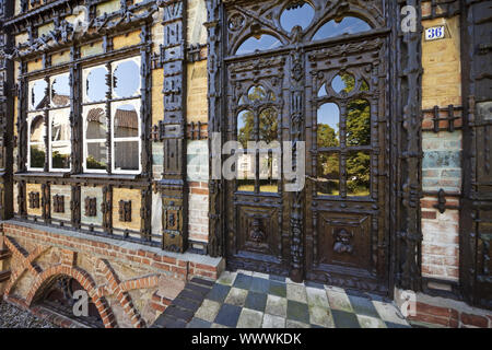 Museum Junkerhaus, Lemgo, East Westphalia, North Rhine-Westphalia, Germany, Europe - Stock Photo