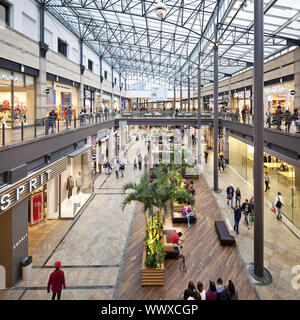 shopping centre CentrO, Oberhausen, Ruhr Area, North Rhine-Westphalia, Germany, Europe - Stock Photo