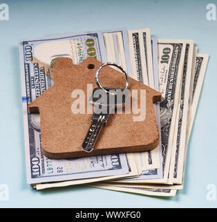 Sale of housing, rental housing, real estate, finance, mortgage - Stock Photo