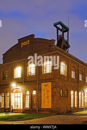 PACT Zollverein, Essen, Ruhr Area, North Rhine-Westphalia, Germany, Europe - Stock Photo