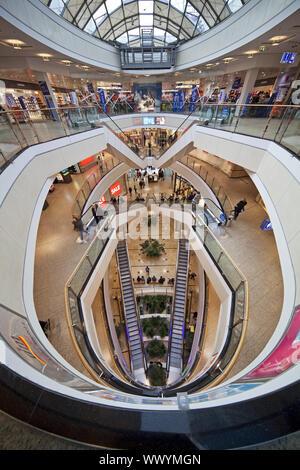 shopping mall City-Arkaden, Wuppertal, Bergisches Land, North Rhine-Westphalia, Germany, Europe - Stock Photo