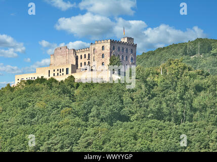 Hambach Castle near Neustadt an der Weinstrasse,Rhineland-Palatinate,Germany - Stock Photo