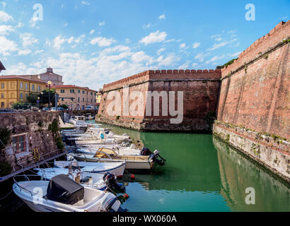 Fortezza Nuova, Livorno, Tuscany, Italy, Europe - Stock Photo