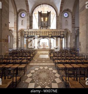 St. Maria im Kapitol, Romanesque Church, Cologne, Rhineland, North Rhine-Westphalia, Germany, Europe - Stock Photo