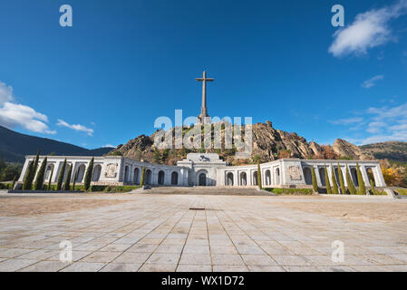 Valley of the fallen, Madrid, Spain. - Stock Photo