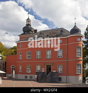 manor house of Wissem Castle, Troisdorf, Bergisches Land, North Rhine-Westphalia, Germany, Europe - Stock Photo