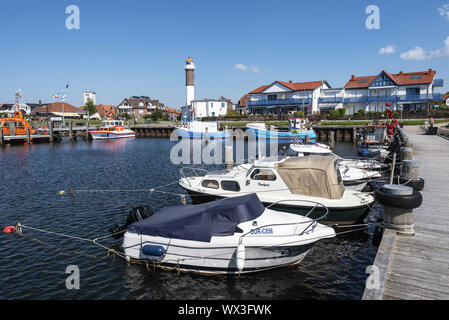 harbour, Timmendorf, Poel island, Mecklenburg-Western Pomerania, Germany, Europe - Stock Photo