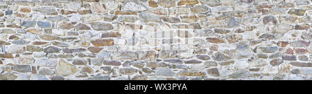 Rough stone wall in poster size - Stock Photo