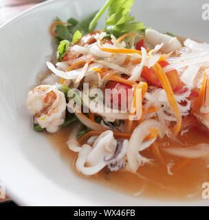 Thai salad - Stock Photo