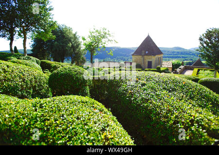 marqueyssac garden - Stock Photo