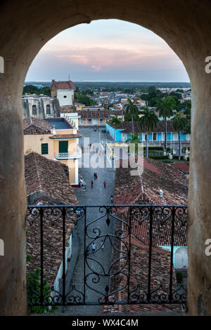 Trinidad, Cuba - colonial town cityscape. UNESCO World Heritage Site. - Stock Photo