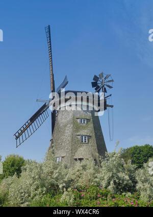 Windmill of Benz on Usedom,baltic Sea,Mecklenburg western Pomerania,Germany