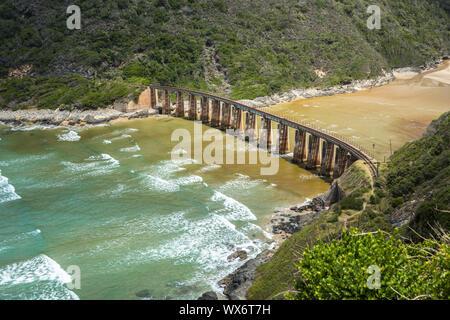 Kaaimans River Railway Bridge, Wilderness, Garden Route, South Africa