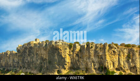 beautiful mountains on French and Spain border in autumn. - Stock Photo