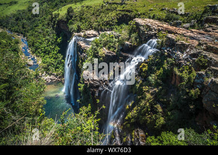 Lisbon Falls in Mpumalanga, South Africa - Stock Photo