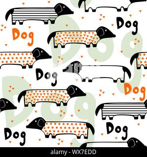 Seamless dod pattern. - Stock Photo