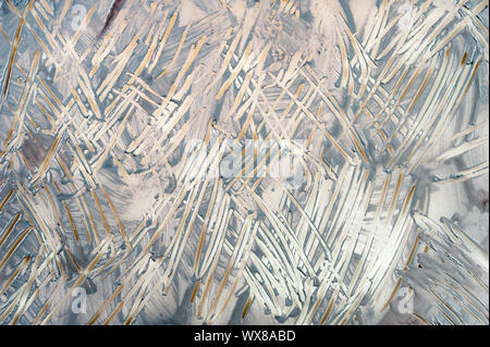 Abstract monochrome grunge texture. Gray decorative distress background. Natural luxury. Copy space. - Stock Photo