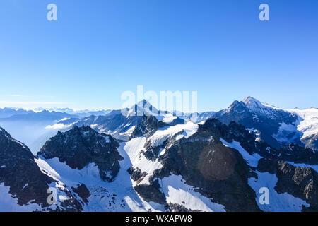 titlis snow mountain - Stock Photo
