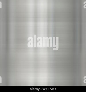An illustration of a brushed metal texture - Stock Photo