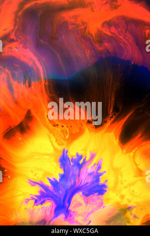 Abstract colored grunge texture. Colorful painting background. Natural luxury. Copy space. - Stock Photo