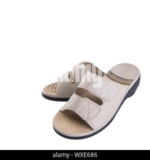 shoe or men's shoes in fashion concept on a background - Stock Photo